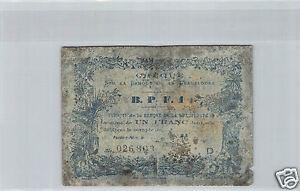 Guadeloupe 1 Franc 189- N° 026803 Pick 20C Selten
