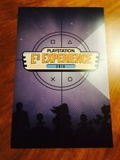 SONY Playstation E3 Experience Event Collector's Poster 17 x 11 Inches
