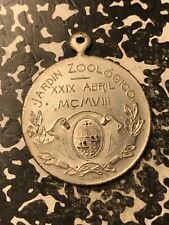 1908 Argentina Buenos Aires Zoo Medal 30mm Lot#X4299