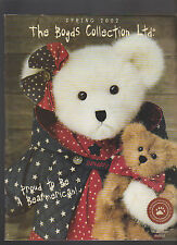 Boyds Collection Ltd Spring 2002 Catalog Proud to be a Bearmerican