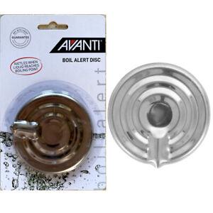 100% Genuine! AVANTI Stainless Steel Boil Alert Disc!