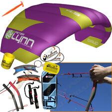Peter Lynn UNIQ Quad 4.5M 4.5 Meter Single Skin Power Foil Kite 4-Line Handles