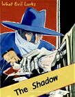 """The Shadow Pulp Fiction Cover Art 8.5x11"""" Photo Print Charles Coll Illustration"""