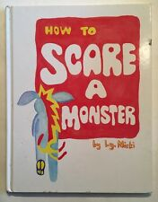 SIGNED! How To Scare A Monster L.G. Niski 1999 Stated Limited First Printing 1st