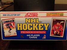 Score 1990 NHL Hockey Factory Complete Set 445 Player Cards Premier Edition