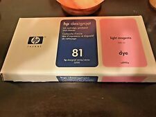 Hp 81 light magenta printhead and cleaner c4955a new genuine