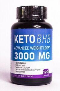 Keto BHB Diet Pills 3000mg 120 caps, maximum strength weight loss