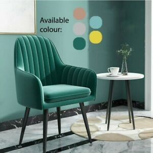 2020 NEW NORDIC CHAIR HOME DINING MAKE-UP CHAIR GREEN EMERALD LUXURY MODERN