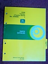 ORIGINAL JOHN DEERE 2240 TRACTOR PARTS CATALOG MANUAL PC-1764 1980 # 350000+
