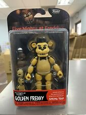 Five Nights at Freddy's Golden Freddy Action Figure [Build Spring Trap Part] NEW