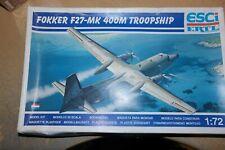 ESCI 1:72 FOKKER F27-MK 400M TROOPSHIP   9112