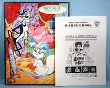 1962 Judy Garland Chuck Jones Gay Purr-ee Movie Exhibitors Manual & Tray Puzzle