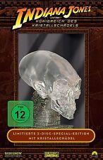 Indiana Jones und das Königreich des Kristallschädels Neu OVP Sealed Lit. Ed.