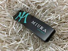 Miura Golf Putter KM-009 Black Boron Tiffany Blue