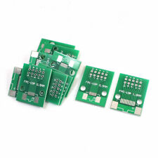 10 Pcs Smd Fpc 10p To Dip10 Dual Sides Ic Pcb Adapter Board Plate Converter