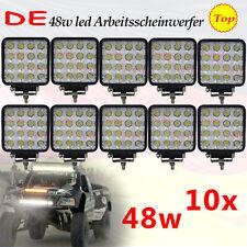 10 X 48W LED Arbeitsscheinwerfer Offroad Scheinwerfer Traktor Bagger Bagger suv