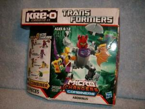 Abominus A2204 Kre-O Transformers 85 pcs Micro Changers Combiners Hasbro 2013