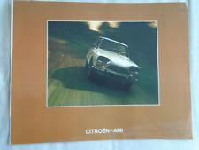 Citroen Ami brochure Sep 1973