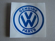 VOLKSWAGEN / VW GENUINE PARTS STICKER / DECAL BUG, BUS, GHIA, THING, TYPE 3
