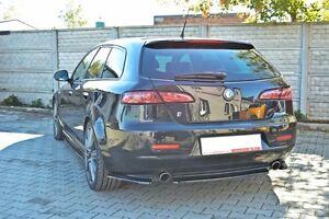 CUP Diffusor ansatz schwarz Alfa Romeo 159 Sportwagon Heckansatz