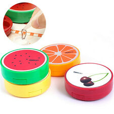Cute Portable Fruit Style Soak Storage Contact Lens Case Box Holder Container GT
