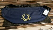 FRED PERRY CROSS BODY BAG. O/S. COLOUR. NAVY BLUE