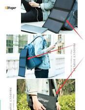 21W Dual USB Portable Sunpower Solar Charger Panel Power Emergency Folding Bag
