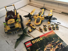Lego Triceratops Trapper 5885 5888 Ocean Interceptor Pterodactyl Minifigs Instru
