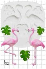 Silicone mould Flamingos | Food Use FPC Sugarcraft FREE UK shipping!