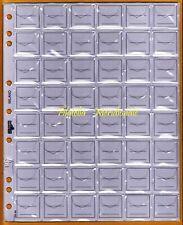 Buste Fogli UNI ECO 48 Caselle per Sistemare Monete in Raccoglitore 10 Pz.