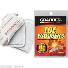 320 Pk 5+ Hr Grabber Adhesive Shoe Boot Foot Feet Toe Warmer 2/Pk TWES