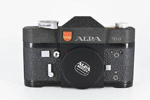 ALPA 10d SLR body/cap E condition