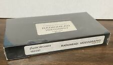 RADIOHEAD Videography 1997 Capitol Records US Promo VHS VIDEO SEALED Not DVD