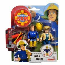 Sam & Trevor | Feuerwehrmann Sam | Spiel Figuren Set | Simba Toys