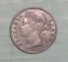 1881 Straits Settlements 10 cent high grade