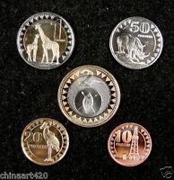 South Sudan Coins Set of 5 Pieces 2015 UNC