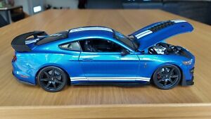 1:18 2020 Ford Mustang Shelby GT500 Diecast Model Car - Brandnew
