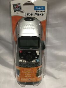 Dymo LetraTag LT-100H Label Maker - Silver - FREE DELIVERY