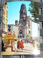 Gedächtniskirche KuDamm Berlin Ansichtskarte 50er 60er Jahre KRÜGER 921/46 63å *