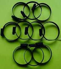 MATT BLACK JUBILEE CLAMP FOR CARB RUBBERS ON XS400 XP500 T-Max XS650 XS750   B7