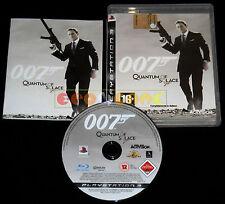 007 QUANTUM OF SOLACE Ps3 Versione Ufficiale Italiana 1ª Edizione ••••• COMPLETO