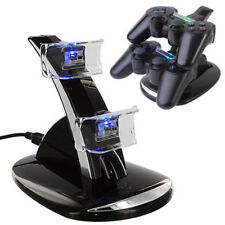 USB Charger Docking Station Charging Stand for Sony PlayStation 3 Ps3 Controller