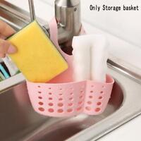 Kitchen Sponge Drain Storage Basket Washing Fiber Cloth Soap Shelf Organizer 1x