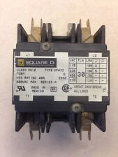 **USED**SQUARE D CONTACTOR 24 VAC, 8910DPA32V14, FREE SHIPPING!!