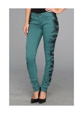 Element SCORPIO Womens Legging Fit Jeans 24 Spruce NEW