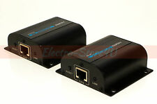 HDMI Extender Over Cat5e Cat6 Cable RJ45 1080p IR Reapeter Ethernet Cable 200ft