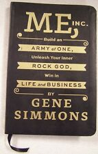 Me, Inc by Gene Simmons Autographed Signed Copy First Edition Book KISS