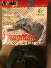 Logitech WingMan Action Pad - Wired USB PC Gamepad Windows Computer Controller