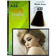 Berina Permanent Hair dye color cream A32 Blonde Green