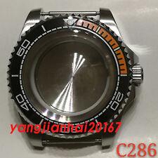 44mm Bliger SS Watch Case Fit ETA 2836DG2813/3804,Miyota 8205/8215 Movement C001
